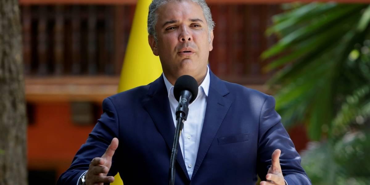 Duque afirma que ELN no puede pretender negociar la paz con actos criminales