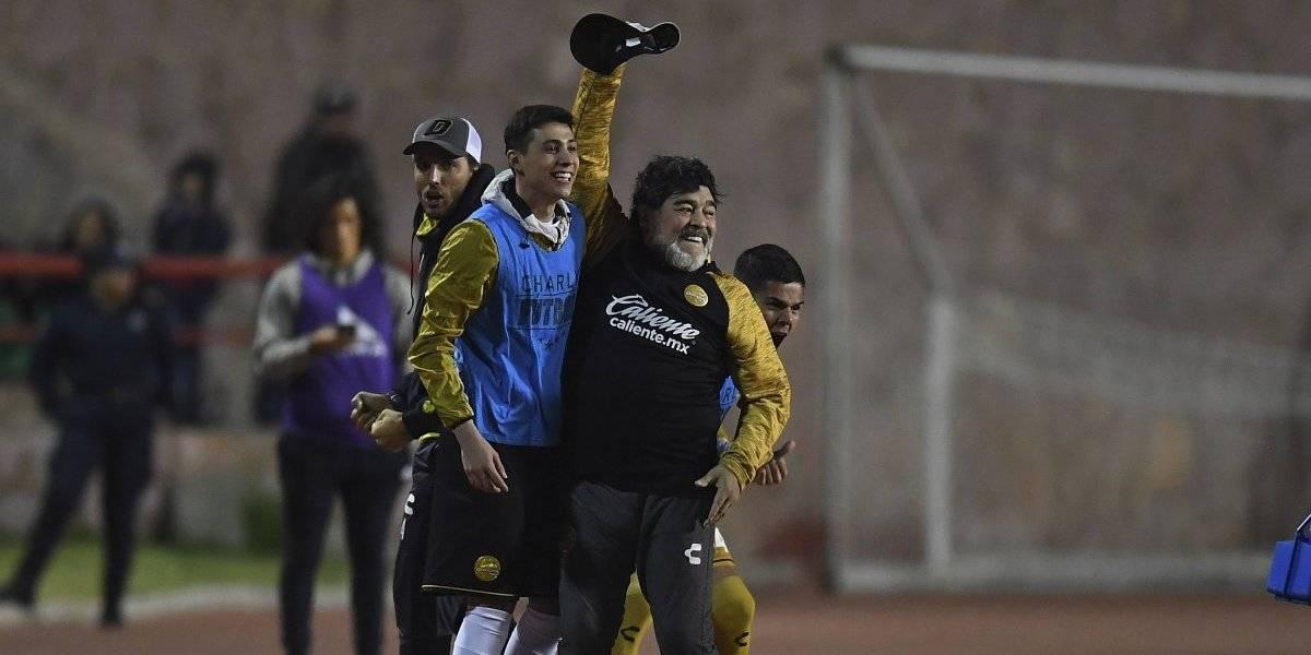 Maradona nuevamente mete a Dorados a una final del Ascenso MX