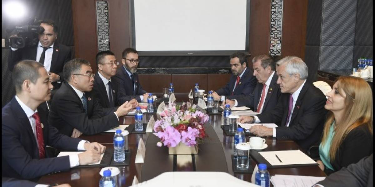 Piñera se reunió con Huawei: empresa china comprometió nuevo centro de Datos Cloud en Chile y luchar por el 5G