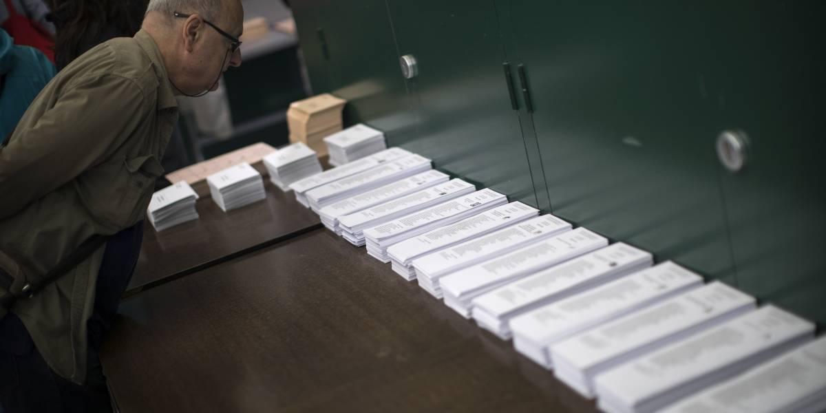 Alta participación y fuerte división política en elecciones generales de España