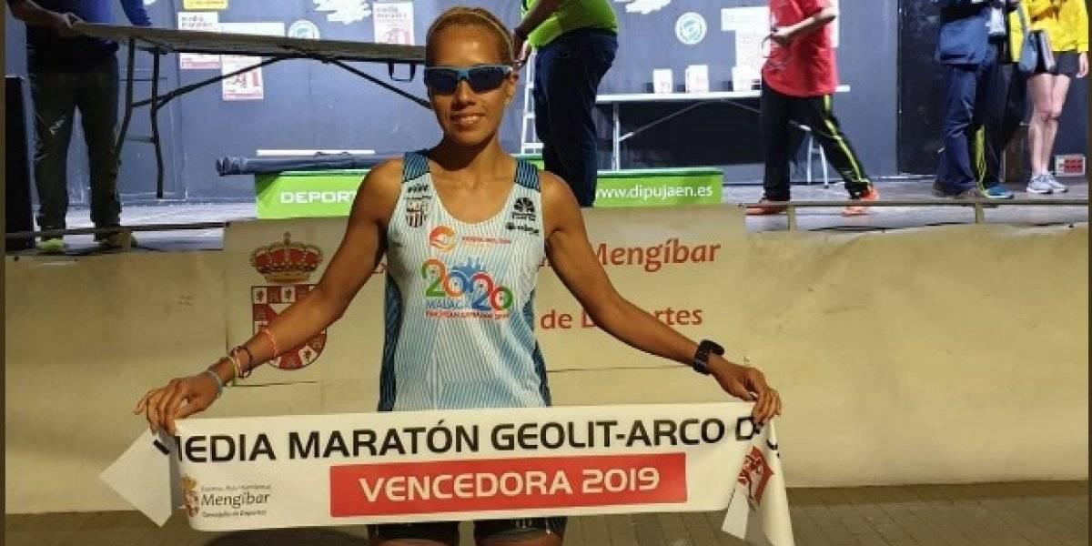 Orgullo ecuatoriano, la maratonista Janine Lima gana en Granada, España