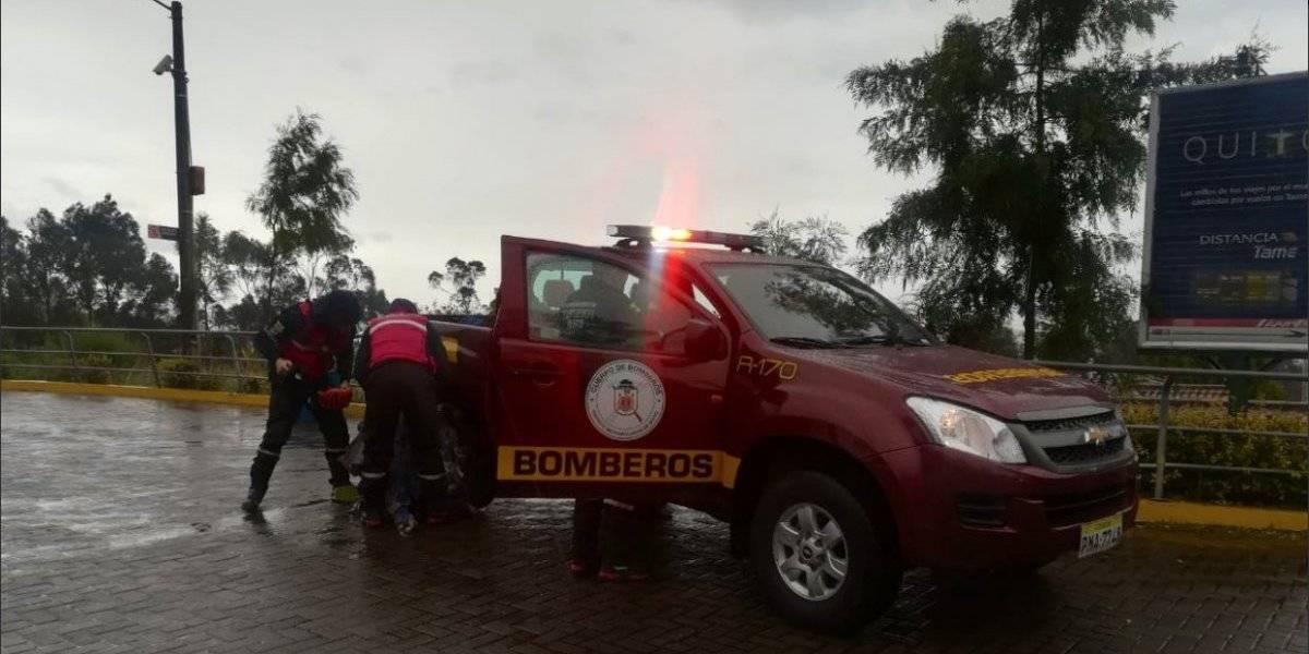 Rescatan a estudiantes extraviados en el Ruco Pichincha