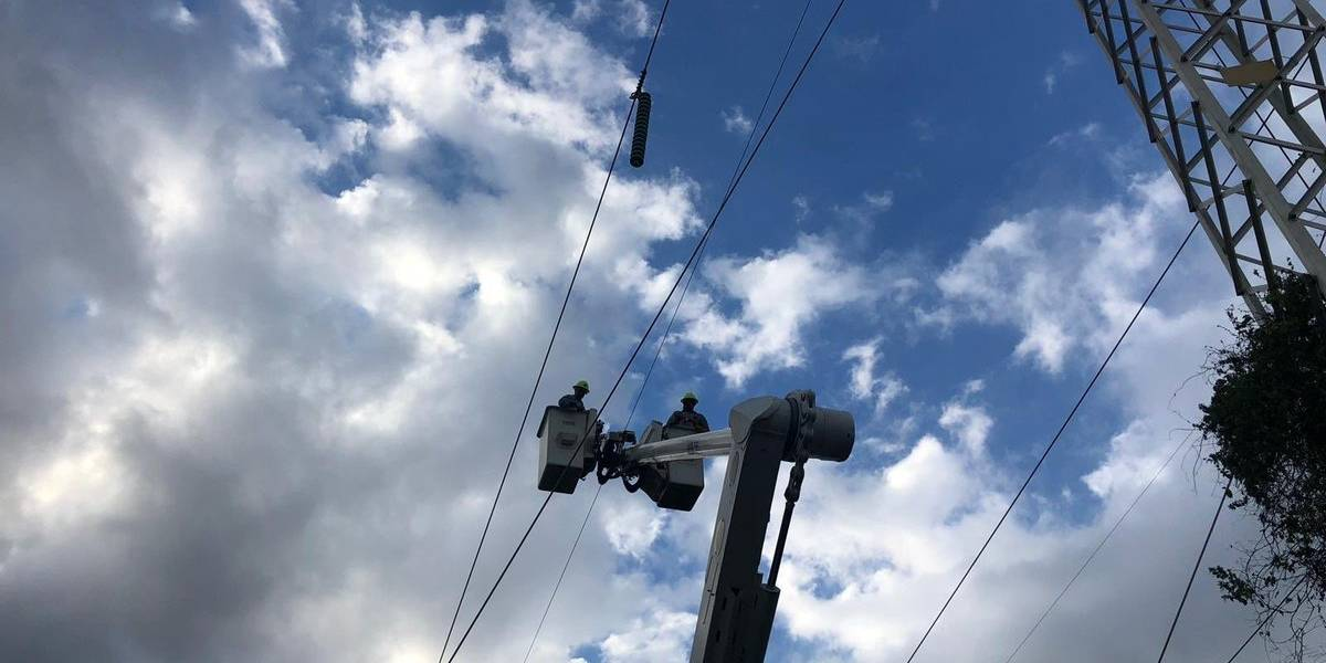 Varios sectores de San Juan se quedan sin luz
