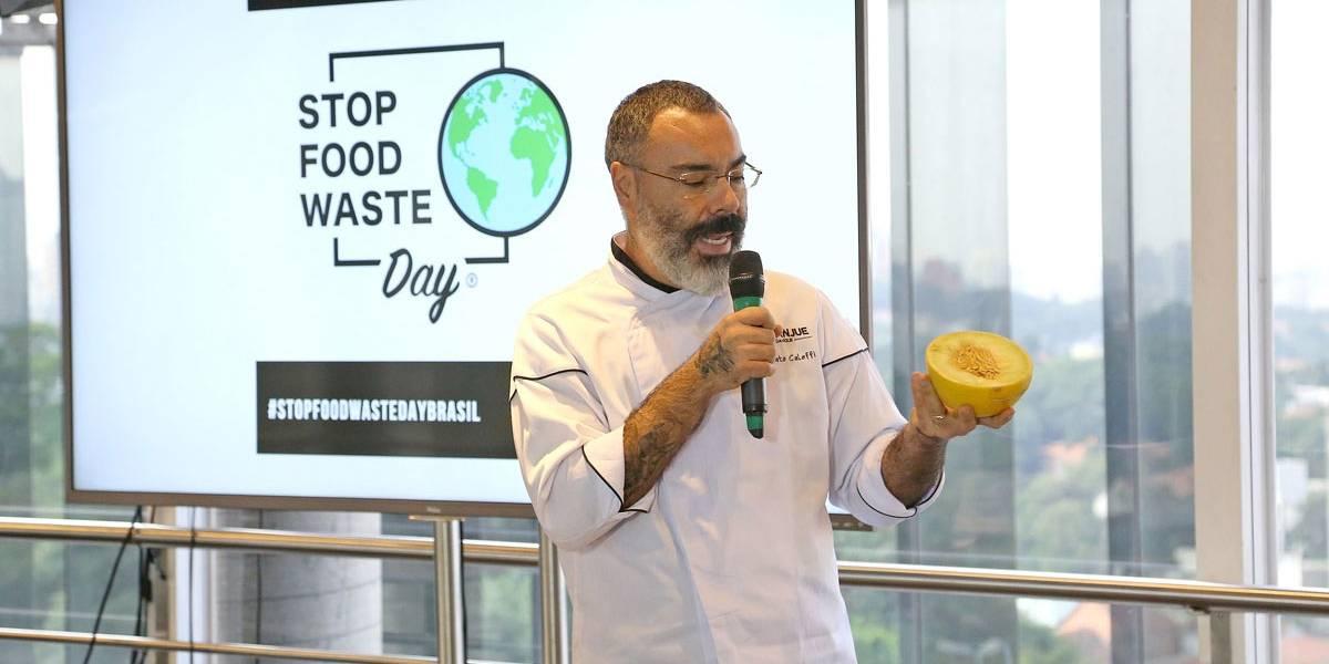 Chef dá dicas para evitar o desperdício de alimentos