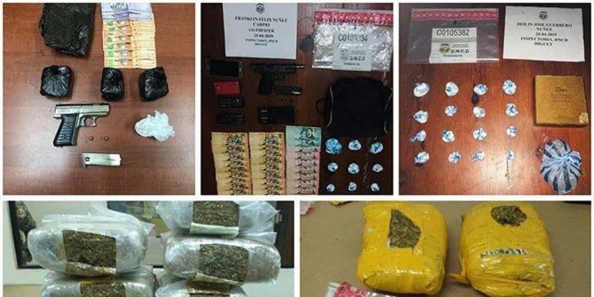 DNCD ocupa más de 27 mil gramos de cocaina en diferentes operativos realizados en el país