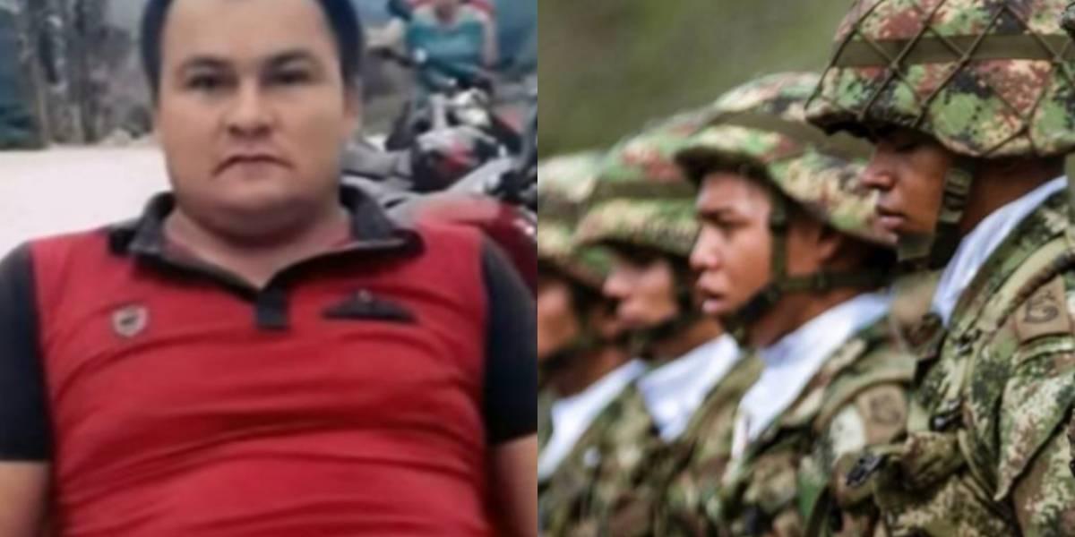 Comandante del Ejército confirmó que militar mató a exguerrillero en Campo Alegre