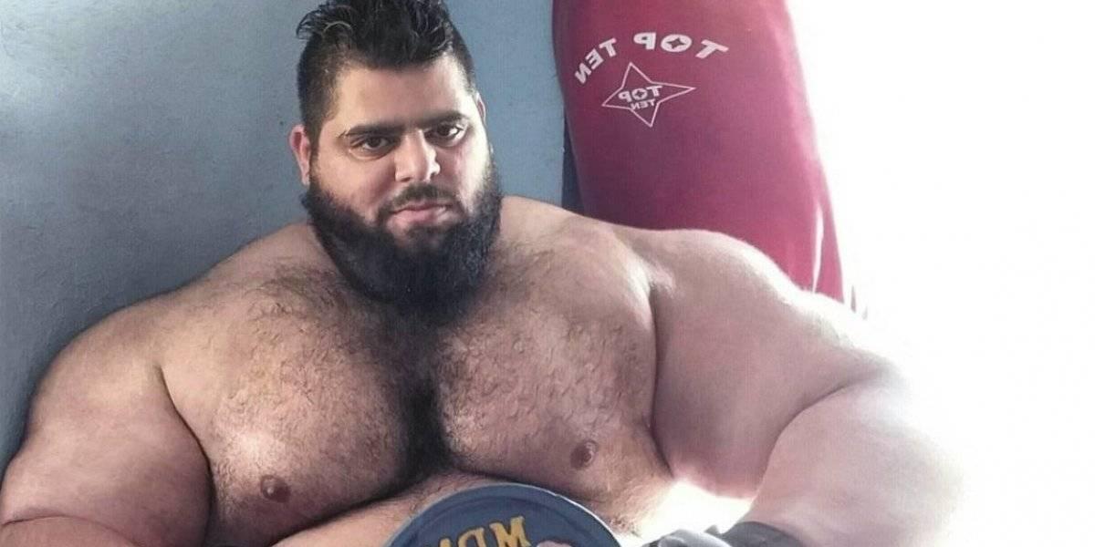 'Hulk iraní' anuncia su debut en las artes marciales mixtas