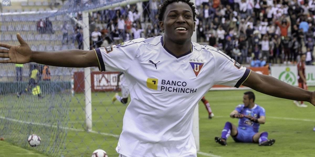 Liga pro Ecuador: LDU triunfó en Ambato con un amplio marcador sobre el 'Ponchito'
