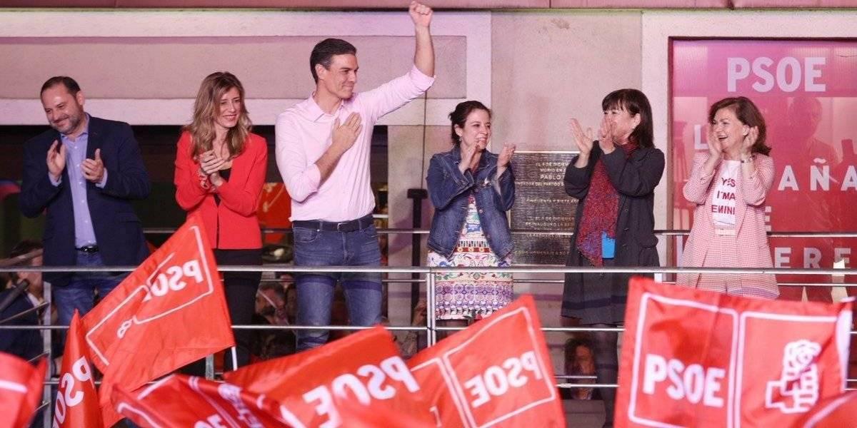 El PSOE gana las elecciones en España pero necesitará pactar para gobernar