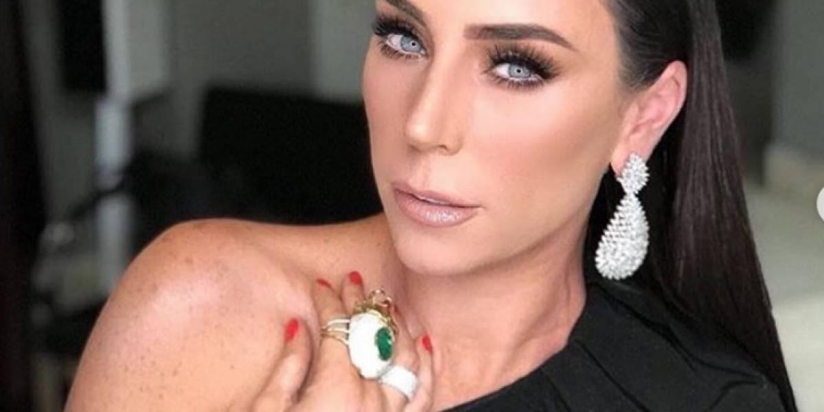 Inés Gómez Mont fue operada de un tumor en el cerebro