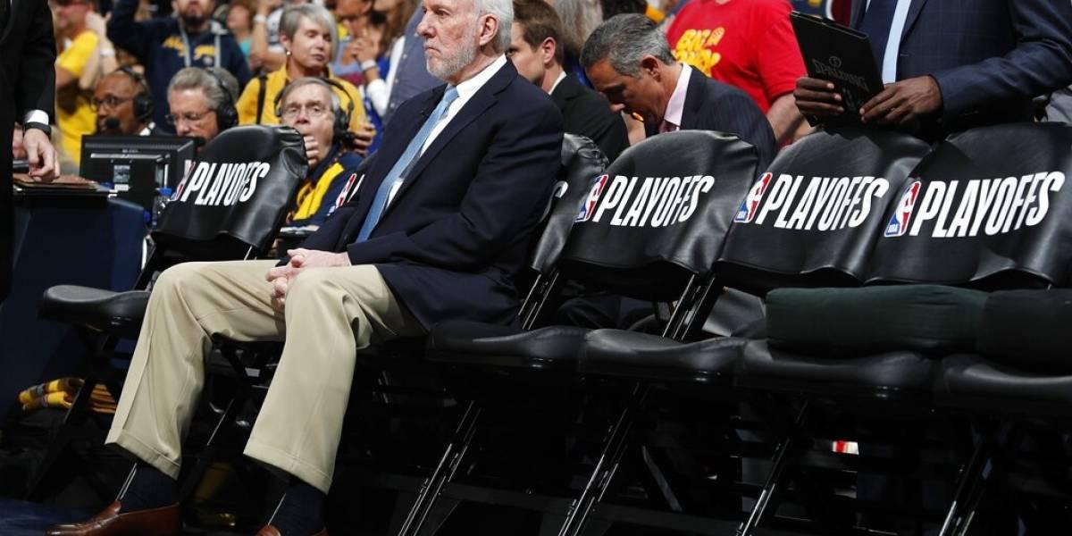 Popovich está en negociaciones con los Spurs