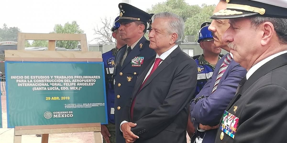 Asegura AMLO que no habrá sobrecosto en Santa Lucía