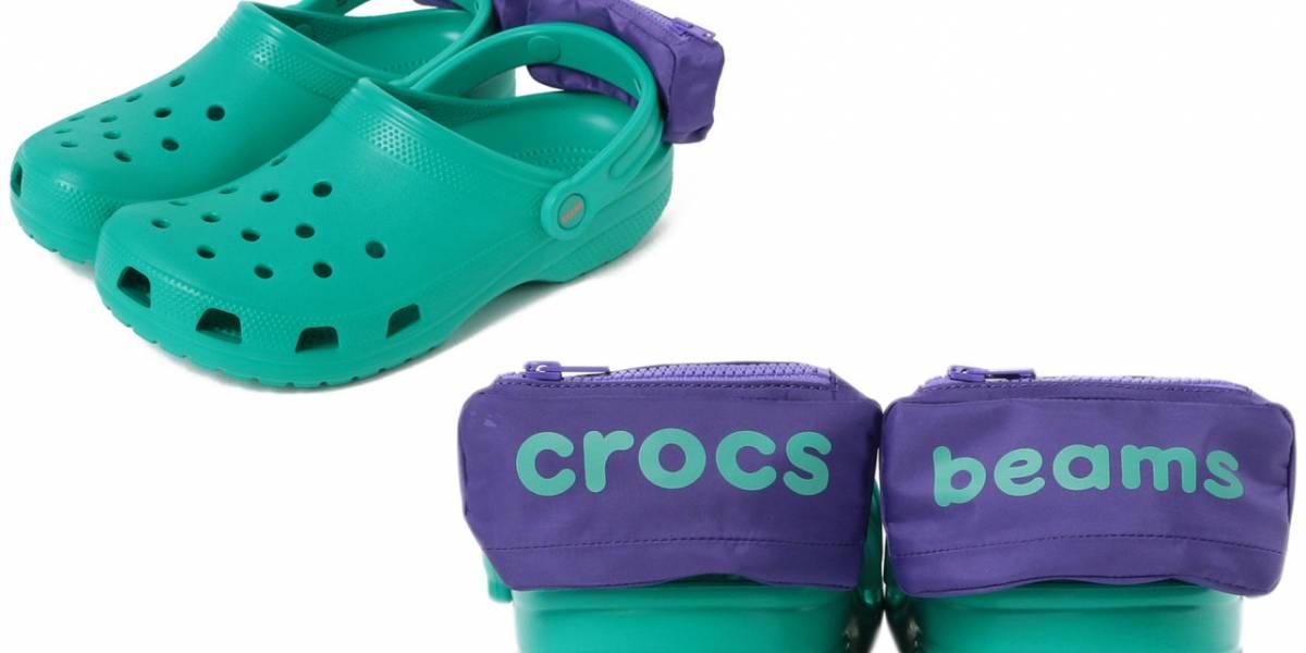 Não é mentira: Crocs lançou novo modelo com mini pochetes