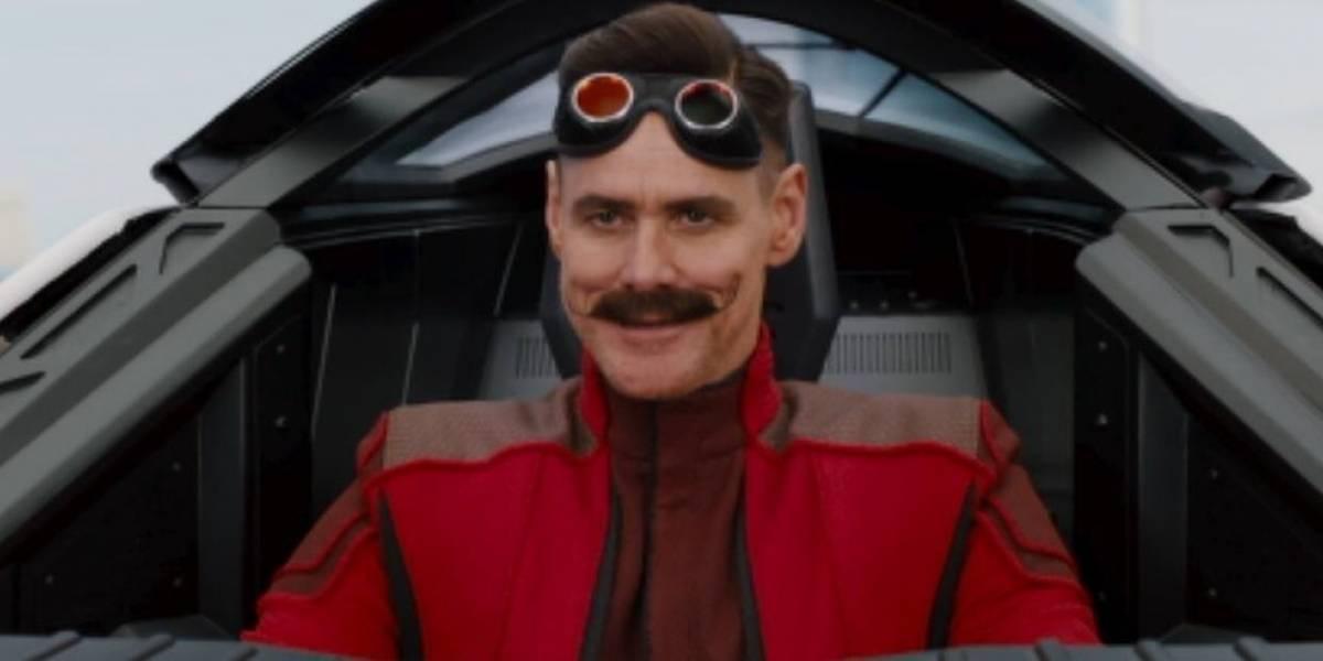 Vaza a primeira imagem de Jim Carrey como Dr. Robotnik, no live action de Sonic