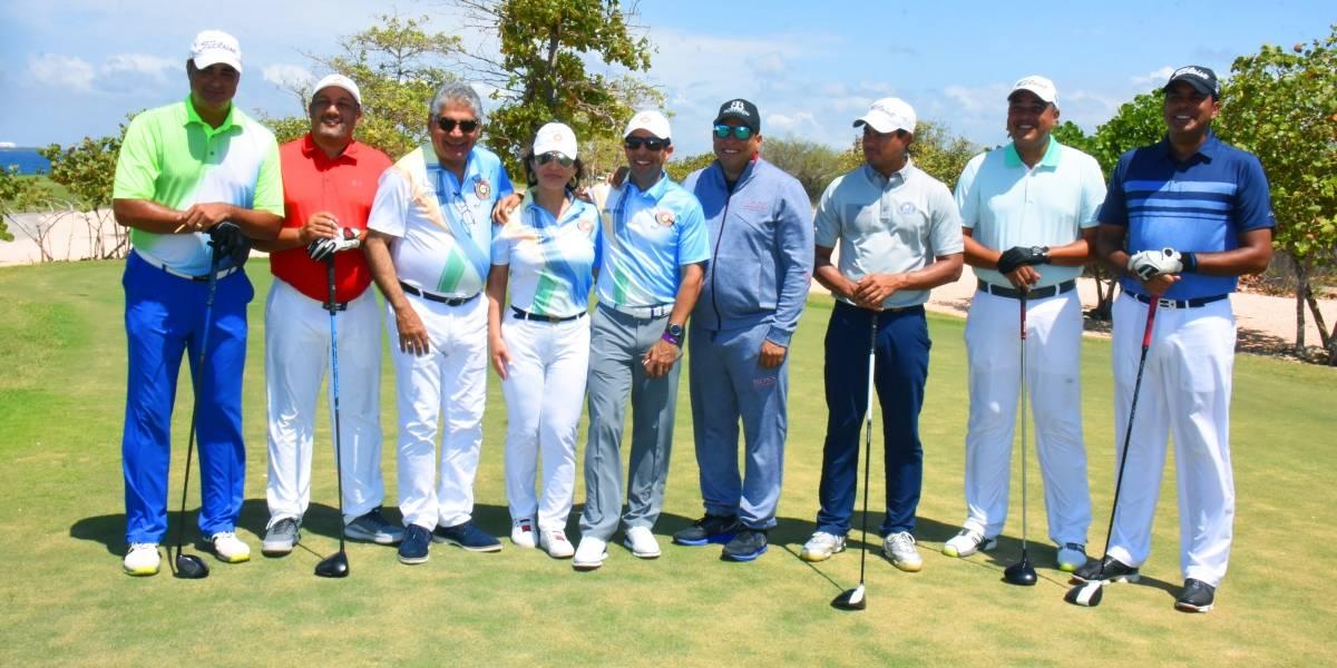 CESTUR realiza primer torneo de golf a beneficio de niños en áreas turísticas vulnerables