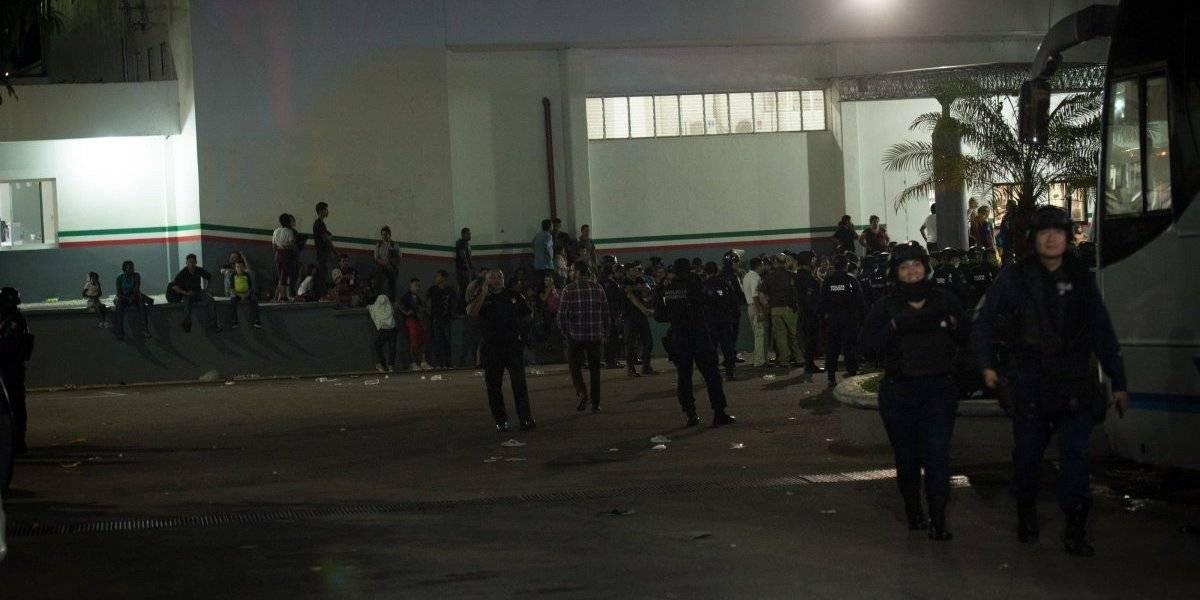 Por segunda vez, migrantes se fugan del INM en Chiapas