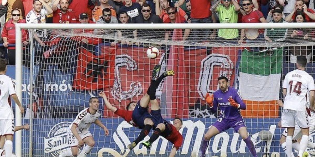 VIDEO: Gol del Osasuna al estilo de los 'Super Campeones'