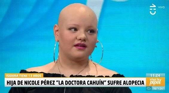 Hija de Nicole Pérez