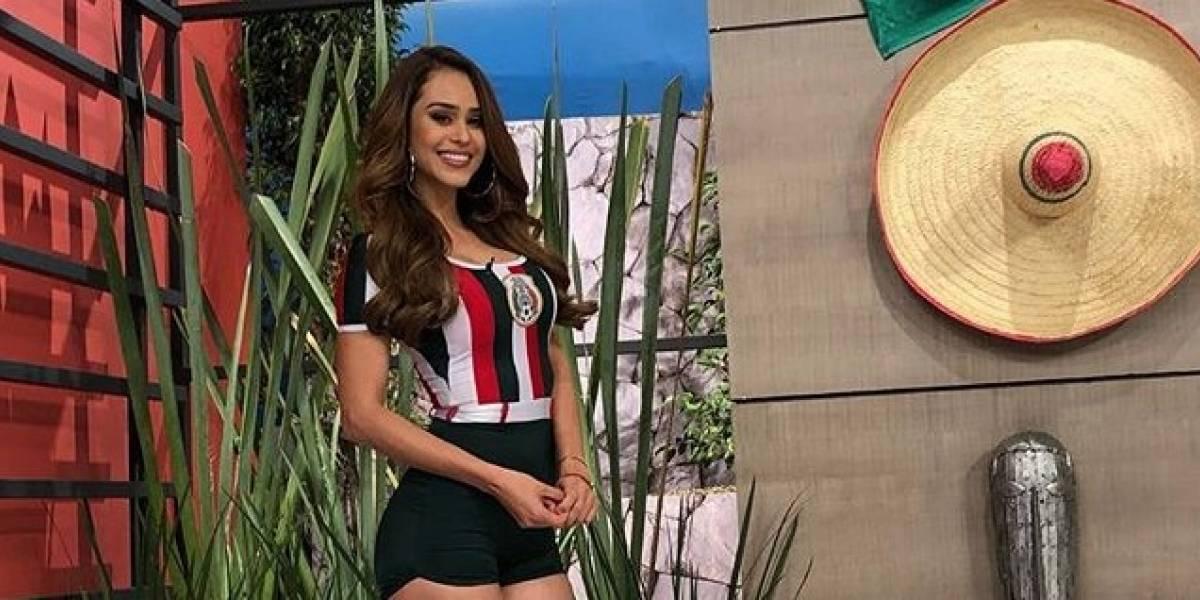 La reacción del novio de Yanet García por una sensual foto de la chica del clima más linda