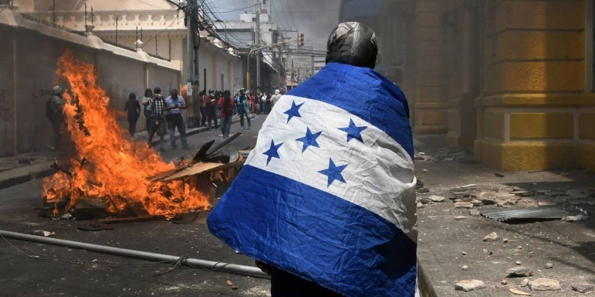 FOTOS. Reprimen manifestaciones contra reformas educativas y sanitarias en Honduras