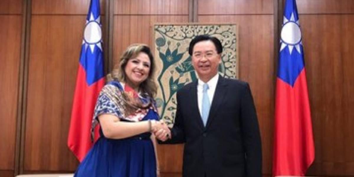 Funcionarios de Guatemala realizan visita oficial en China-Taiwán