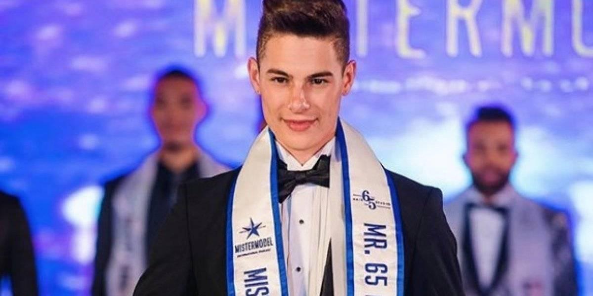 Joven boricua sobresale en Mister Model International 2019