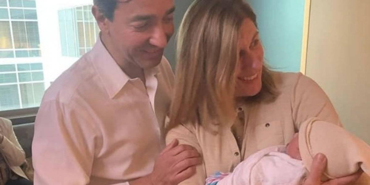Exgobernador Luis Fortuño se convierte en abuelo