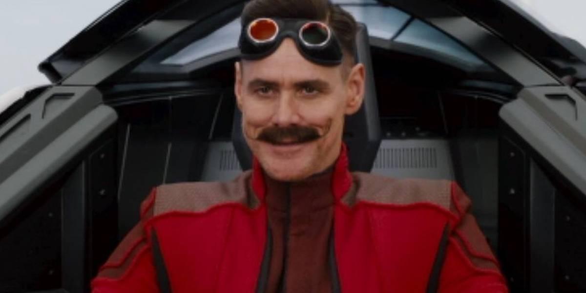 Así luce Jim Carrey como el Dr. Eggman en la película de Sonic