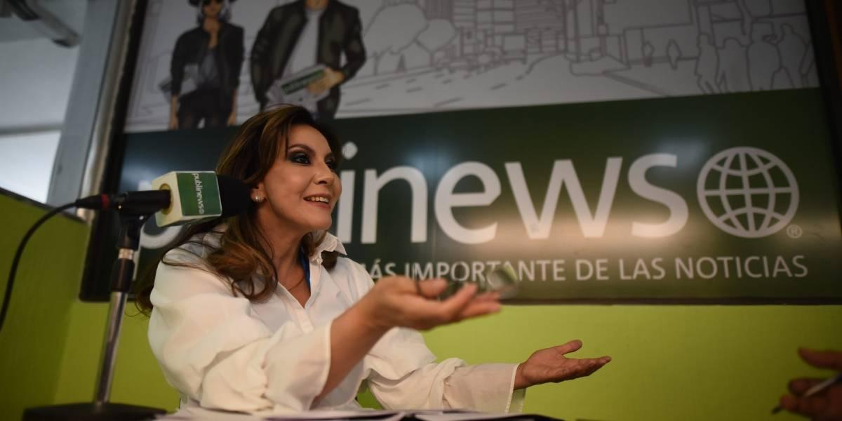 El 10 de Zury Ríos, candidata presidencial del partido Valor