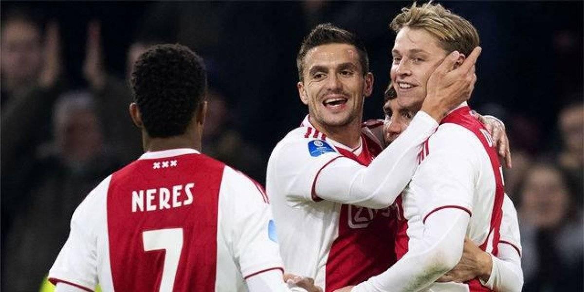 Capitão do Ajax é aconselhado a escolher o Liverpool na janela de transferências de verão
