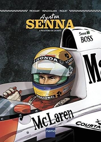"""Livro """"Ayrton Senna: A trajetória de um mito"""" Reprodução"""