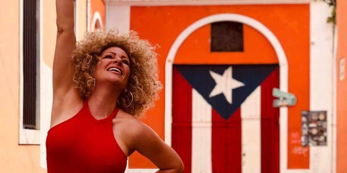 Angelique Burgos sigue dando pasos en el cine
