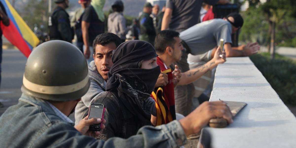 EN VIVO: Operación Libertad en Venezuela; enfrentamientos entre militares sublevados y fuerzas chavistas
