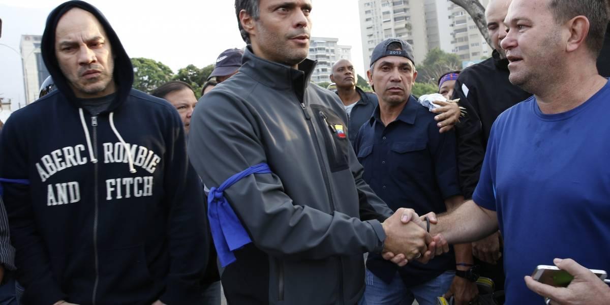 Leopoldo López y su familia se encuentran refugiados en la casa del embajador de Chile en Caracas
