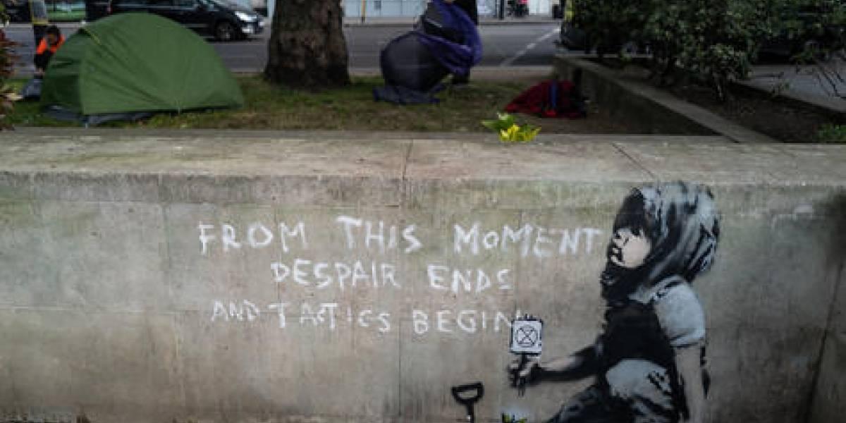 ¿Banksy 'ataca' de nuevo?