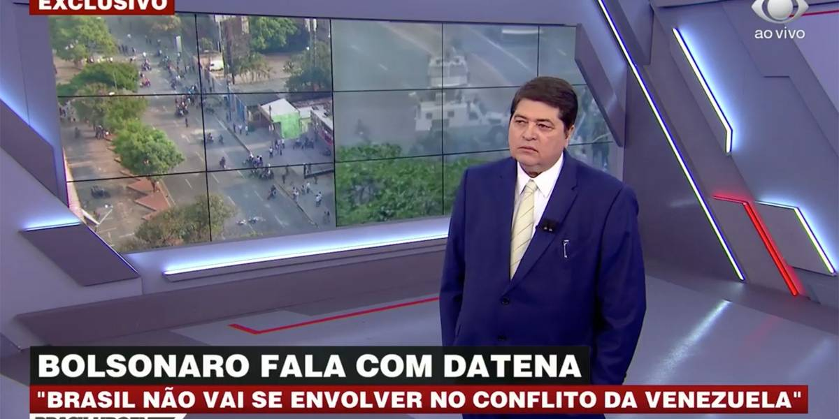 'Brasil não vai se envolver no conflito da Venezuela', diz Bolsonaro ao Brasil Urgente