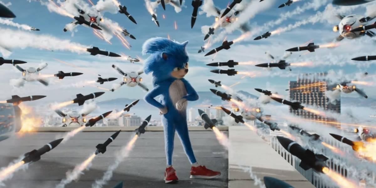 Mira aquí el trailer de la película live action de Sonic The Hedgehog