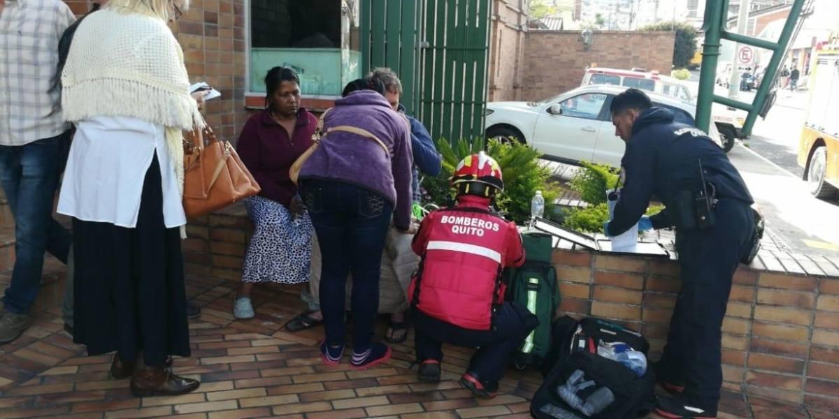 Quito: Nueve personas afectadas y una fallecida tras fuga de gas en la  avenida 6 de Diciembre