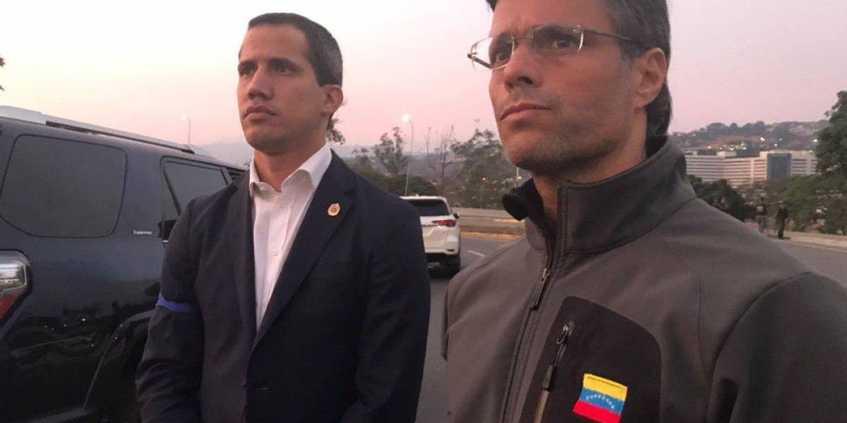 Juan Guaidó libera a Leopoldo López, ex líder opositor en Venezuela