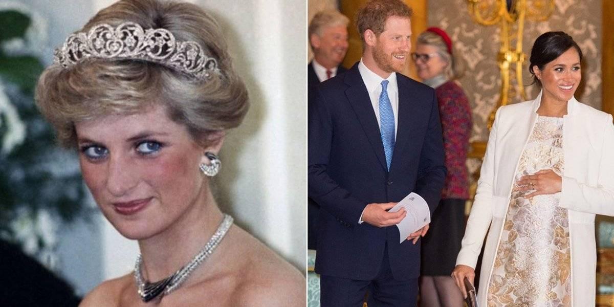 Meghan Markle e Harry podem dar ao bebê nome italiano em homenagem a princesa Diana