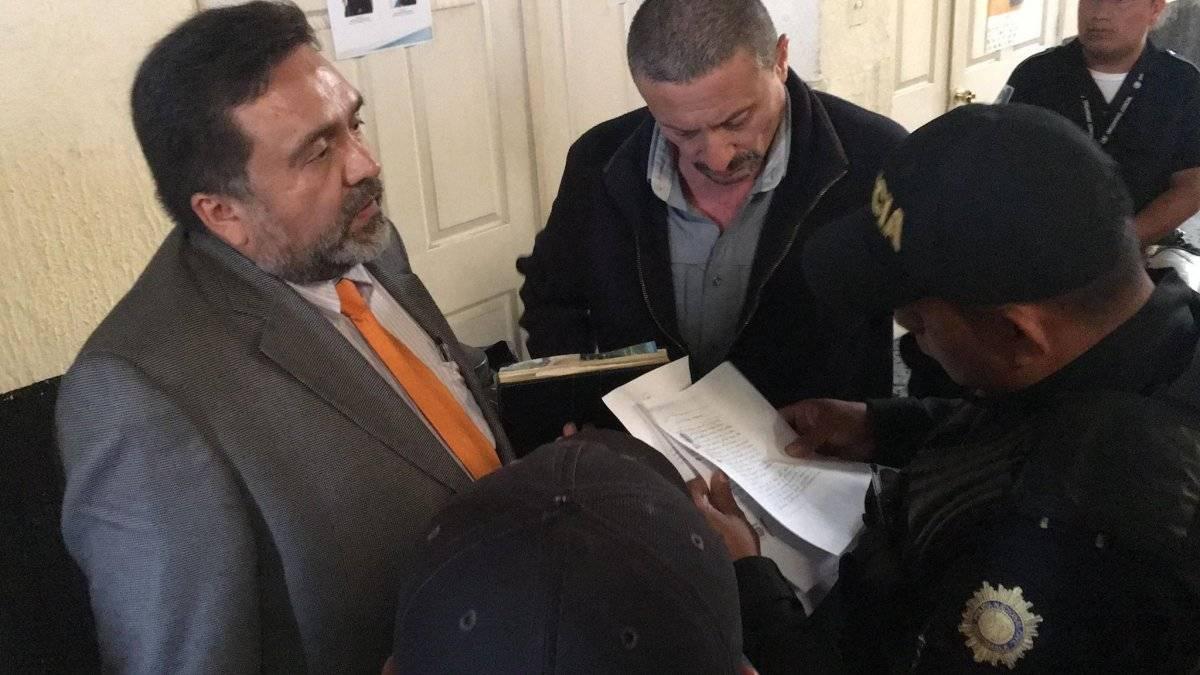 Capturan a Juan Carlos Herrera Cardona en tribunales. Foto: Jerson Ramos