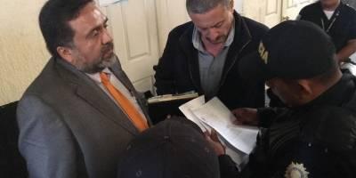 Capturan a Juan Carlos Herrera Cardona en tribunales.
