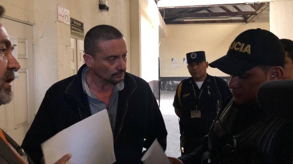 Capturan a Juan Carlos Herrera Cardona en tribunales. Foto: Herlindo Zet