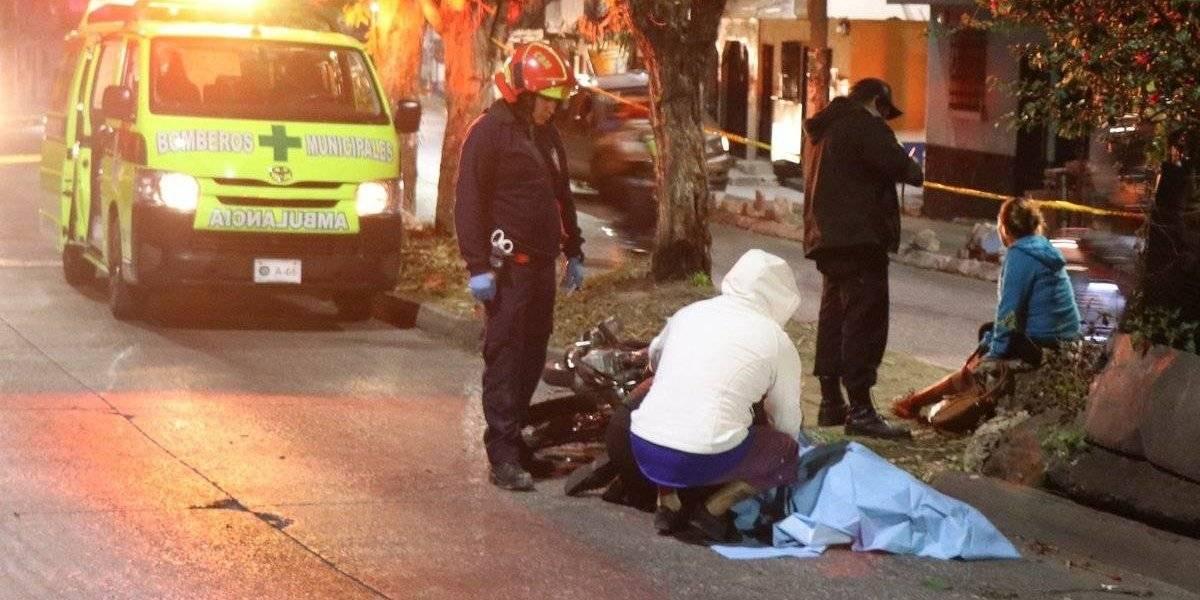 Motorista muere tras ser atacado a balazos en Villa Nueva