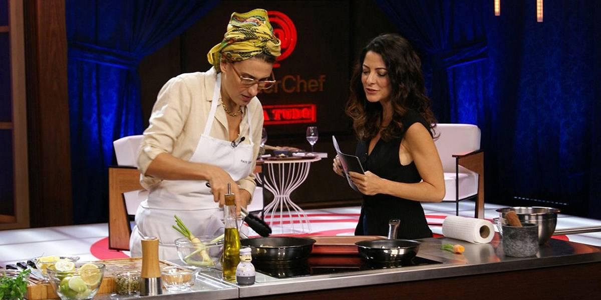 MasterChef Para Tudo: Paola Carosella prepara receita com Caixa Misteriosa