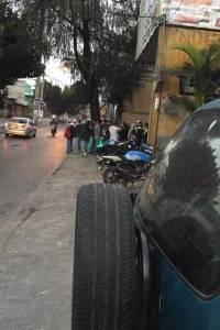 paro de buses en El Milagro