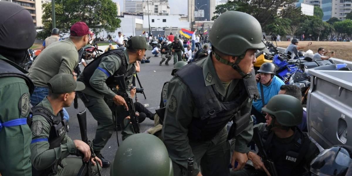 EN VIVO. Tensa situación en Venezuela por levantamiento militar
