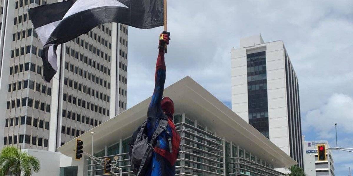 """Policía deja en libertad a """"Spiderman"""""""