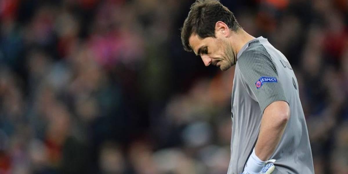 Iker Casillas ingresó a urgencias tras un infarto