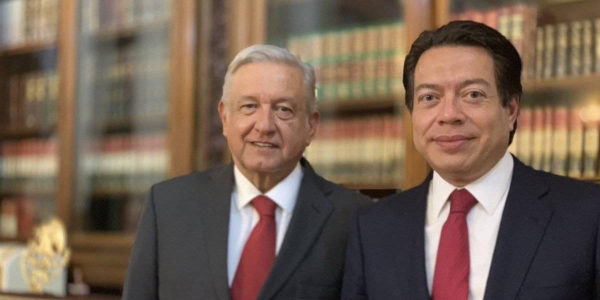 AMLO y Delgado hacen balance de agenda legislativa